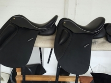 2 new dressage saddle from WRM SADDLES NEW saddle company in Wals...