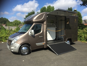 John Oates New build horsebox delivery miles only