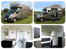 New 2017 build Owens Eclipse SE 3. 5 ton horsebox with full divid...