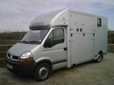 H and C coach built 3.5 tonne horse lorry