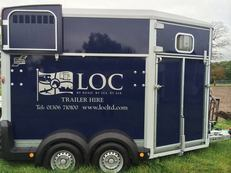 LOC Horse Trailer Hire