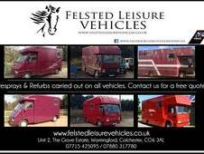 Felsted leisure vehicles