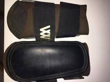 Woof wear pony brushing boots - brown