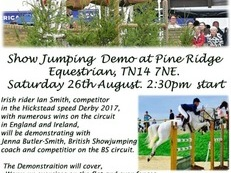 Show Jumping Demo in Knockholt