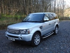 Range Rover 2.7 Diesel HSE with tow bar fitted