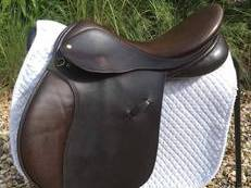 "Rimmel Saddlers 17""GP Saddle"