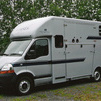3500kgs Renault Master Rear Facing Horsebox