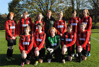 Girl's football team raises £105 for The Horse Trust in Stay-Awake-Athon