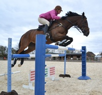 MAKING A SPLASH IN EVENTING!