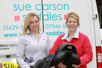 Event rider Emma Hyslop secures support from Sue Carson Saddles