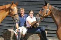 William and Pippa Funnell  join Allen & Page at Your Horse Live