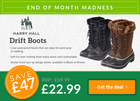 Harry Hall Drift Boots ONLY £22.99!
