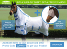 Buy A Supa-Fly Sheet, Get A FREE Fly Mask!