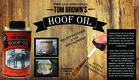 Horse Hoof Oil is proven to promote healthy hoof growth