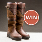 Want To WIN A Pair Of Mountain Horse Devonshire Country Boots worth £249?